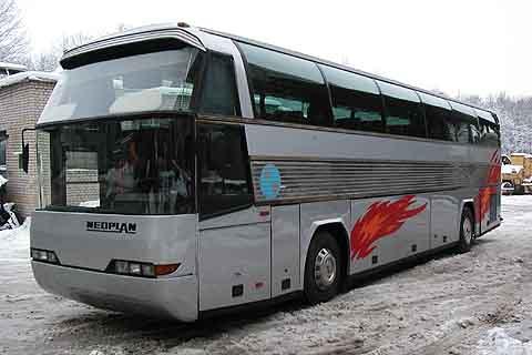 Туристический автобус Neoplan N116 (Неоплан), 1985 г., 25000 Euro